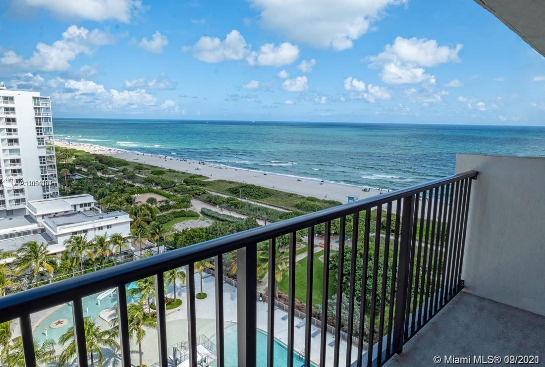 Penthouse unit  located in the attractive Surfside community, hurricane proof windows, renovated bui