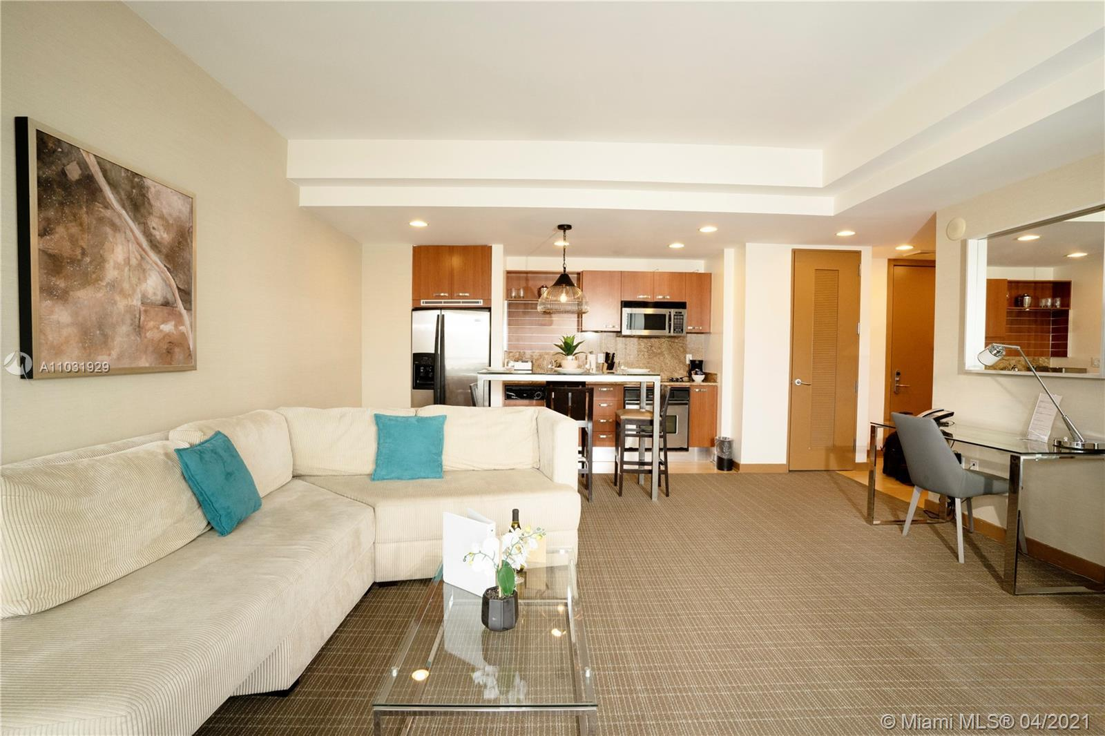 Conrad Miami Residences 1 Bedroom and 1.5 baths with breathtaking views Brickell Skyline and Port of