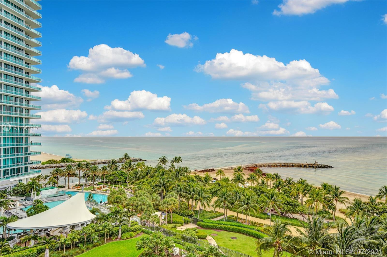 Beautiful updated condo at the exclusive ocean front Harbour House in Bal Harbour. Stunning ocean an