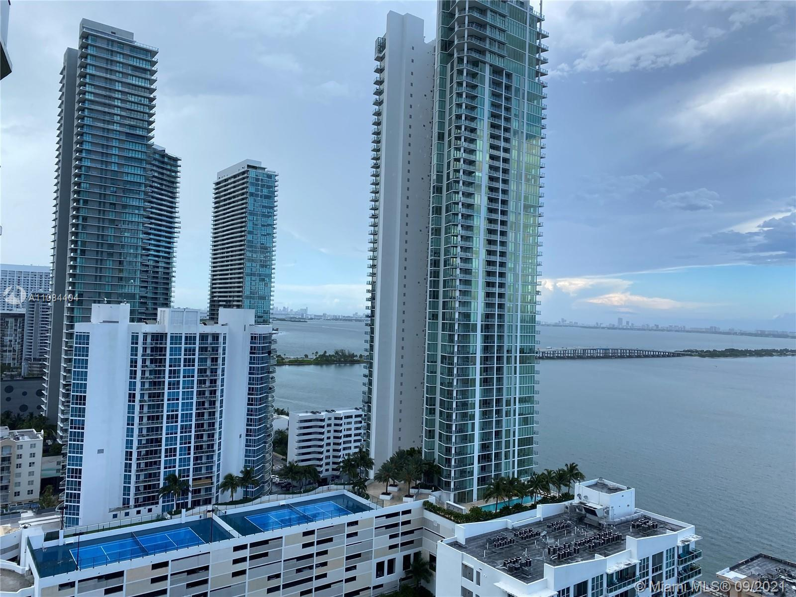 Icon Bay is a residential high-rise in the Edgewater neighborhood of Miami, Florida, containing abou