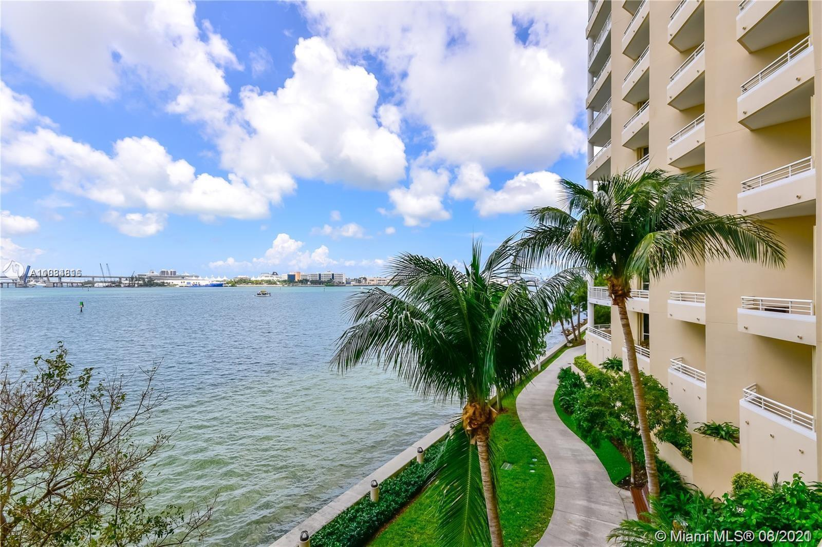 BEAUTIFUL 2BD/2.5B COMPLETELY REMODELED, MARBLE FLOORS THROUGHOUT, CITY AND WATER VIEW.IN AMAZING BR
