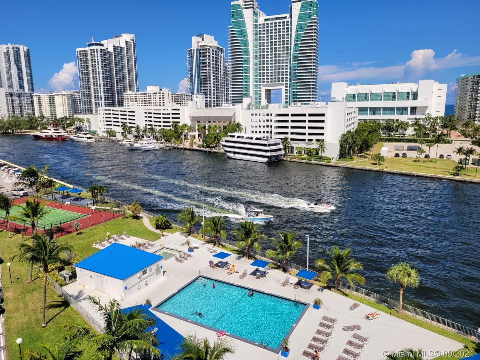 LOCATION LOCATION LOCATION IN HALLANDALE BEACH, IMPECCABLE APARTMENT WITH MILLIONAIRE INTRACOASTAL W