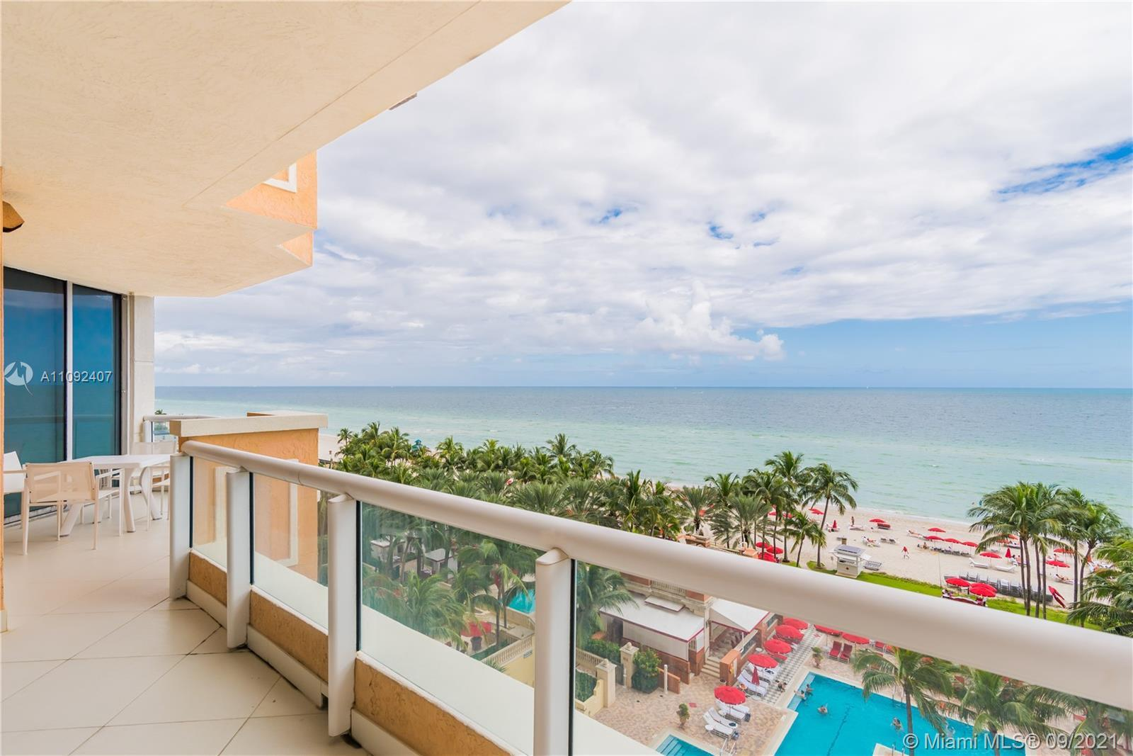 Spectacular South Facing corner residence, fully remodeled by an award winning designer in Acqualina