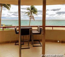 Direct unobstructed beach and ocean views from this fantastic condo residence at Tropicana. The hand