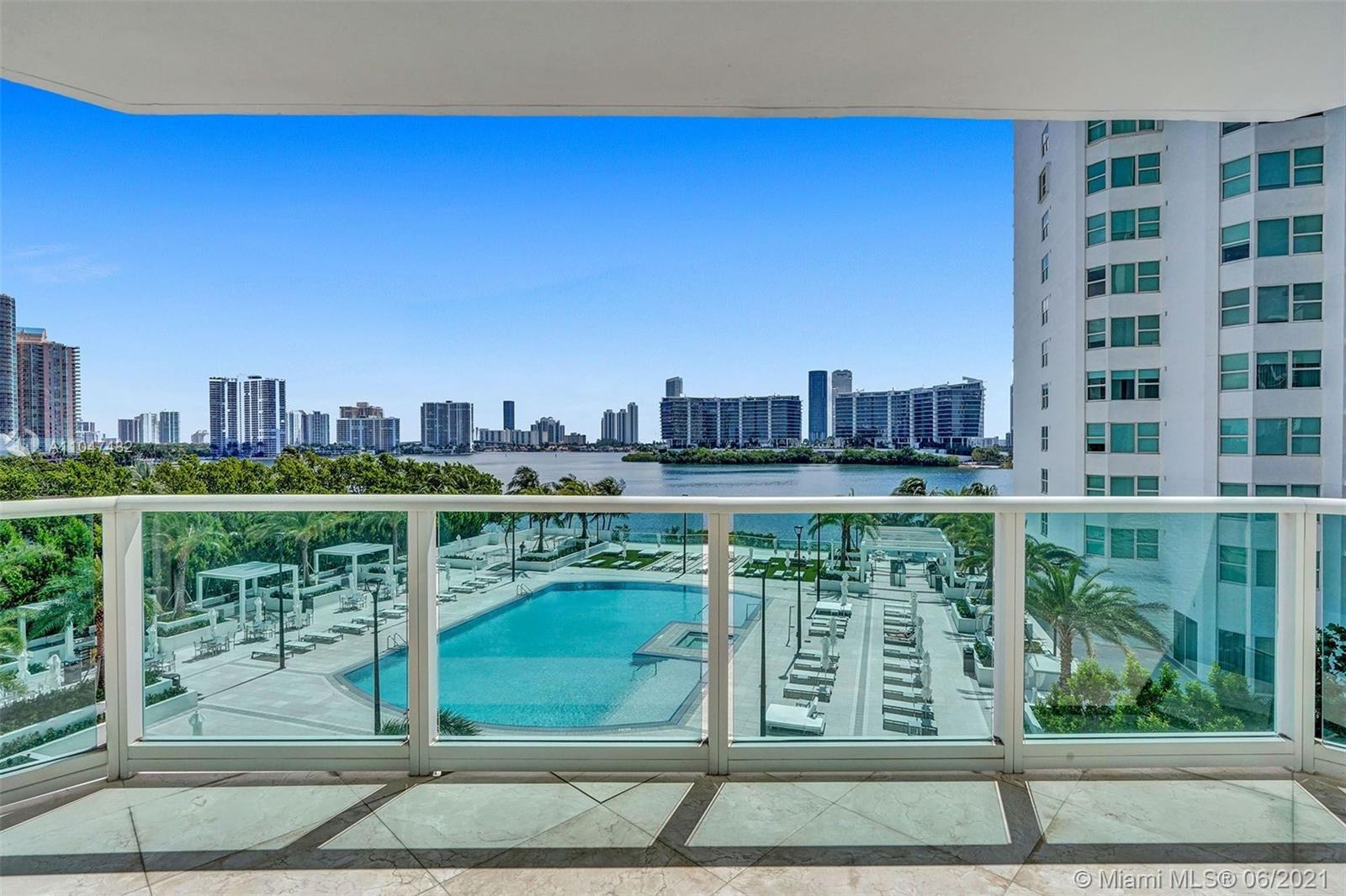 Enjoy breathtaking ocean, city, and intracoastal views from this tastefully designed and elegantly a