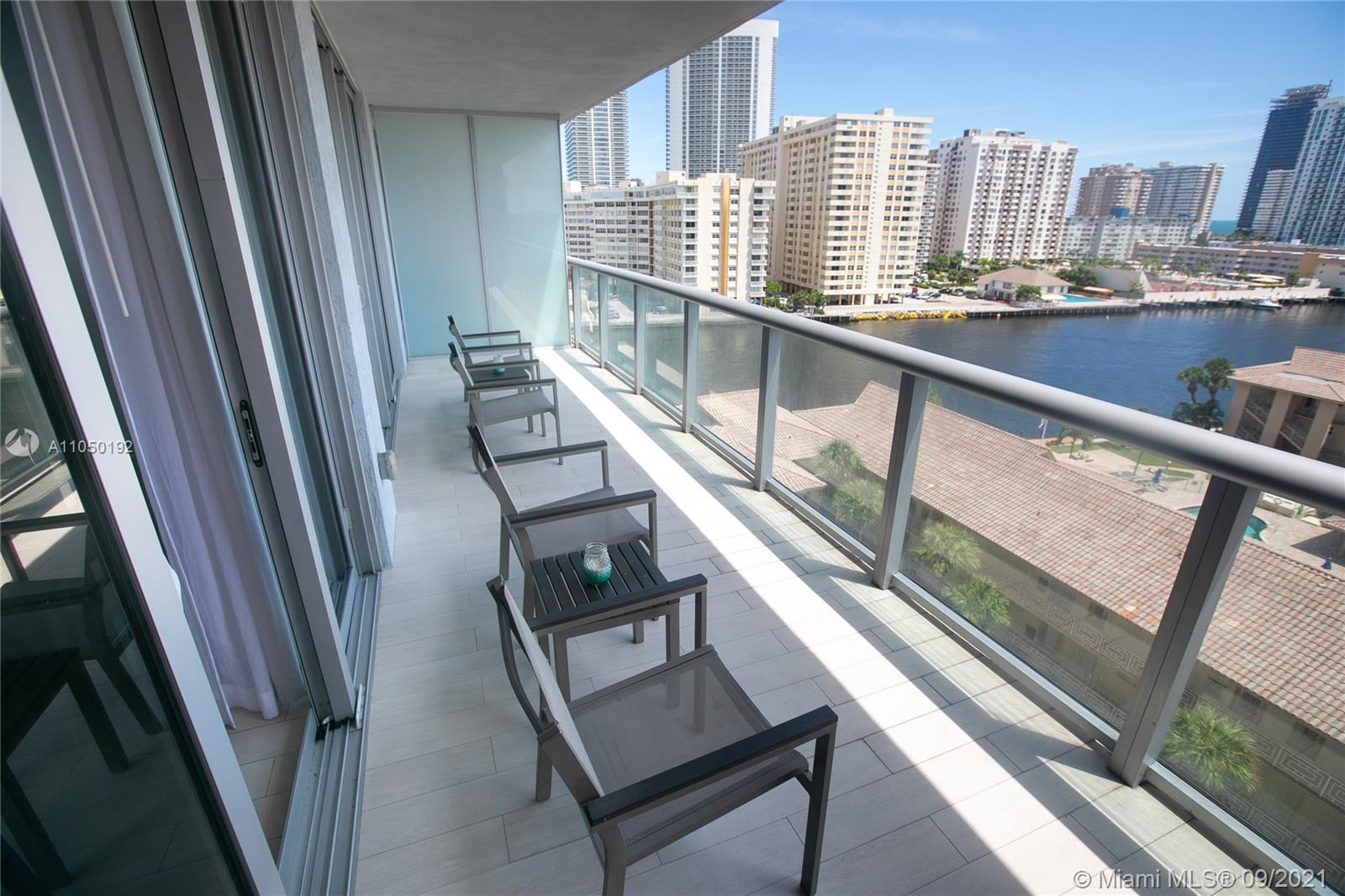 Enjoy a fully furnished turn key unit with amazing views of the intracoastal. Unit has 2 separate en