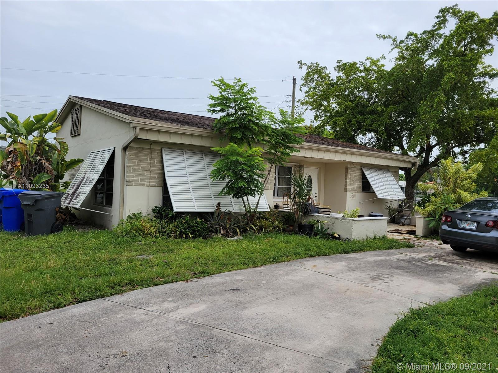 Great opportunity for an investor with great potential for this corner lot/property. Located in the