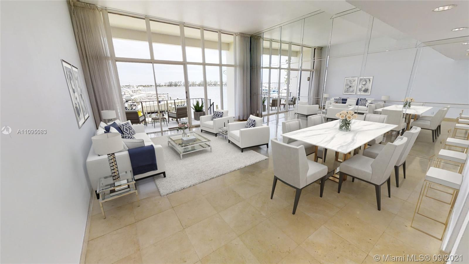 This Beautiful, Unique townhouse with amazing Biscayne Bay views and Direct Ocean Access. Enjoy the