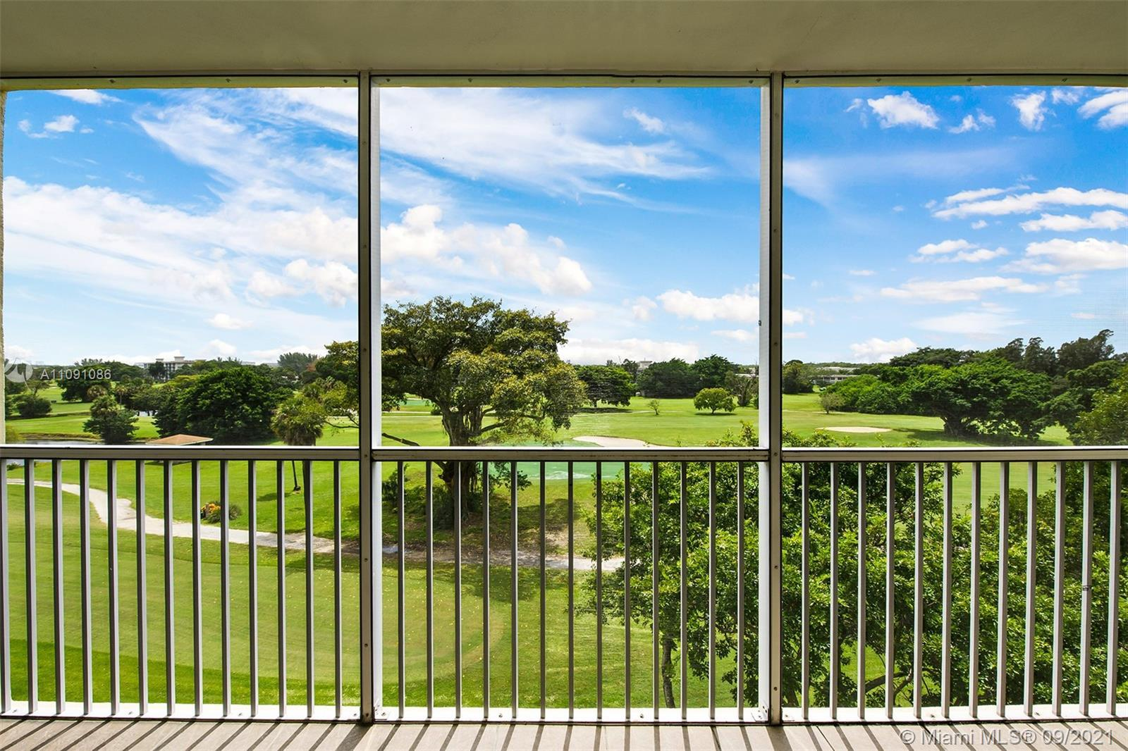 SPECTACULAR GOLF COURSE VIEWS FROM THIS BEAUTIFULLY UPGRADED SPACIOUS 3/2 CONDO! HUGE 3 BEDROOMS WIT
