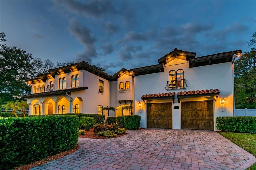 Completely Remodeled, Custom Built Mediterranean style Estate. This house is perfect for entertainin