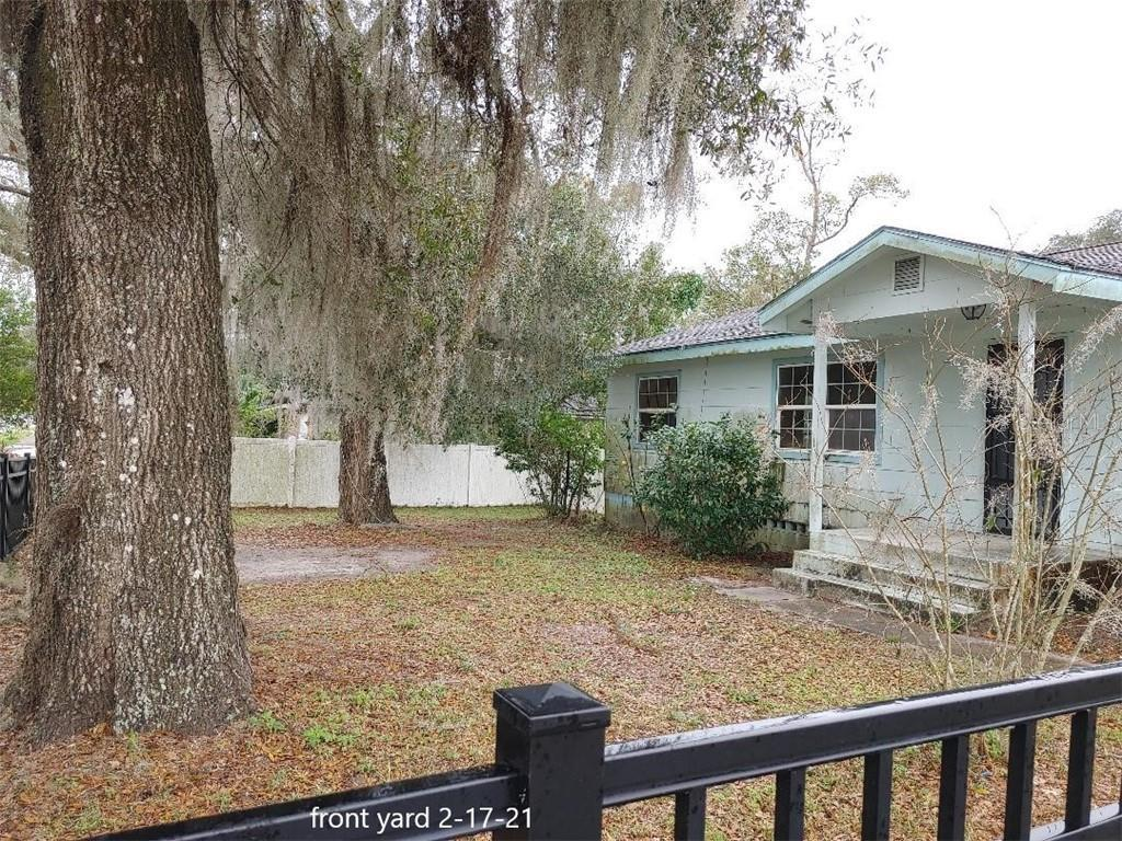 INVESTORS TAKE NOTE! If it's all about LOCATION, this wins hands-down! Located 1.2 miles from Stetson University & 18 miles from the Daytona International Speedway and world famous Daytona Beach! Across the street from George Marks Elem! This 1957 single family residence is NOT habitable in it's current condition being in dire need of a renovation. Oversize .36 partially fenced corner lot has paved road access from 3 sides. CASH BUYER ONLY-house WILL NOT qualify for financing.