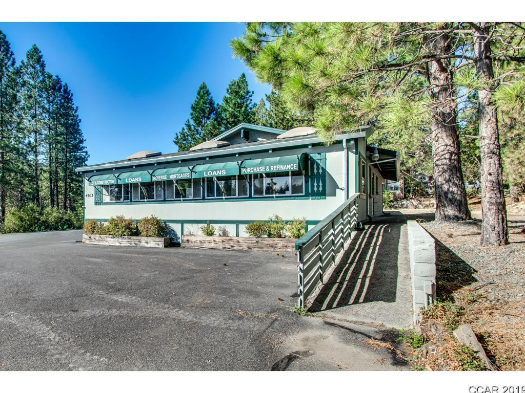 A Great Location with Great visibility on the corner of Highway 4 and Avery Sheep Ranch Road.  Perfect location for your professional office.  The office space is broken up into 3 sections with multiple areas for desks and a large conference table.  There is a large back office with a private entry.  A small kitchen plus two baths, one is a full bath with shower and the other is a 1/2 bath. A Panasonic 4C0 Digital Super Hybrid system for your internet and telephone is already installed.  The office space is all carpeted.  Central heat and Air installed approximately 6 years ago.   Sellers are willing to carry with 50 % down to a qualified buyer. Great opportunity to own your own office space.