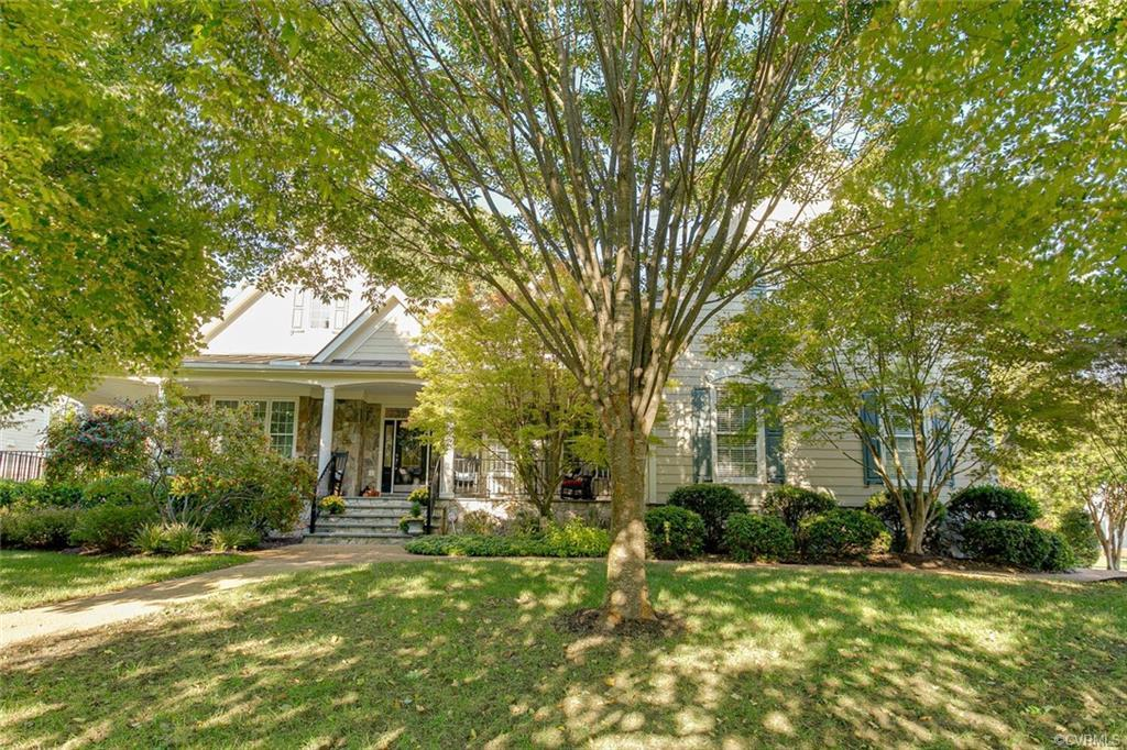Located in the Raleigh subdivision, this 4,806 square foot home sits on a lovely corner lot. The mat