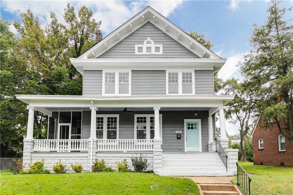 Welcome to 2422 Lamb Ave a 4 bedroom/3.5 bathroom American Foursquare home with 2712 sqft, three sto