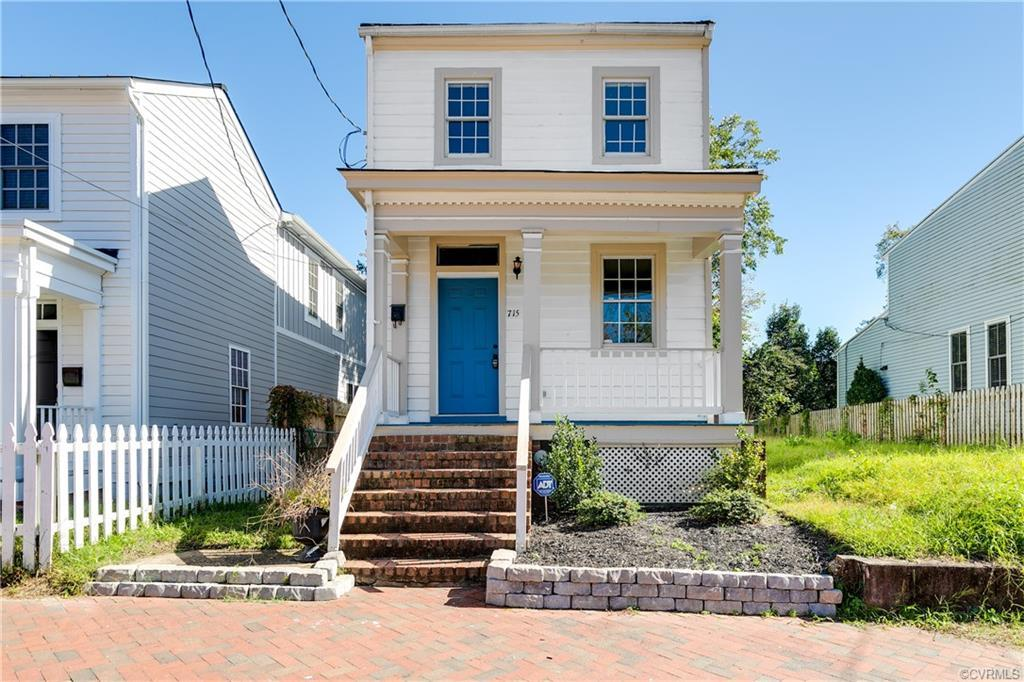 Welcome to 715 N 24th St. a Victorian located in historic Church Hill. This three bed and two full b