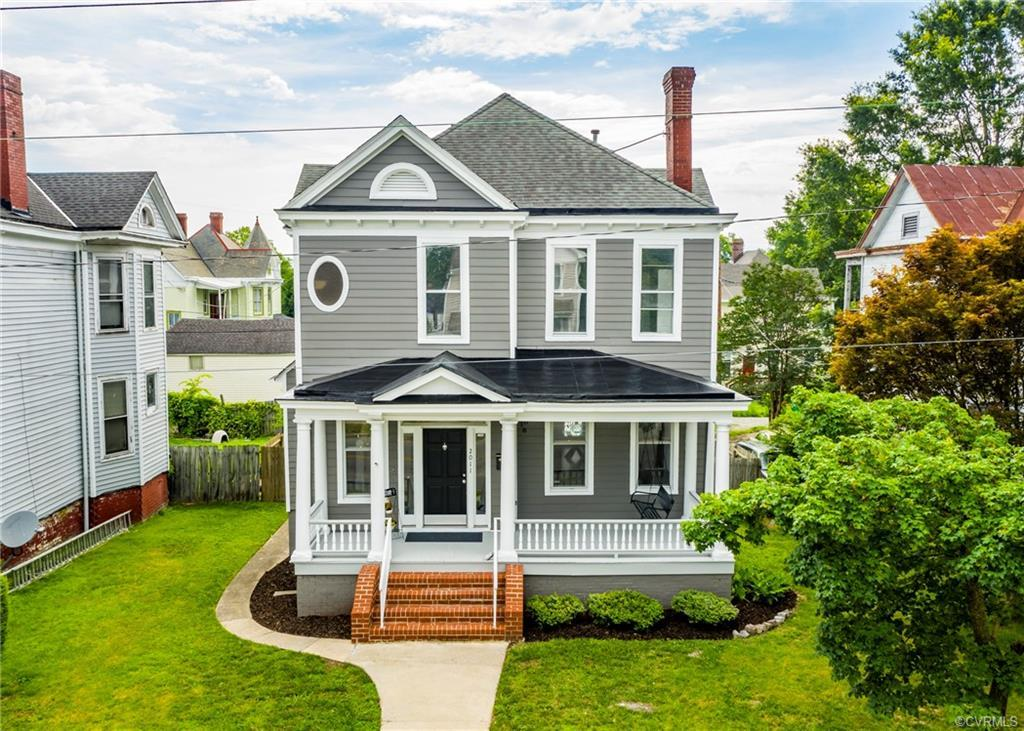 Welcome to this newly renovated and restored Colonial Revival home in the heart of historic Barton H