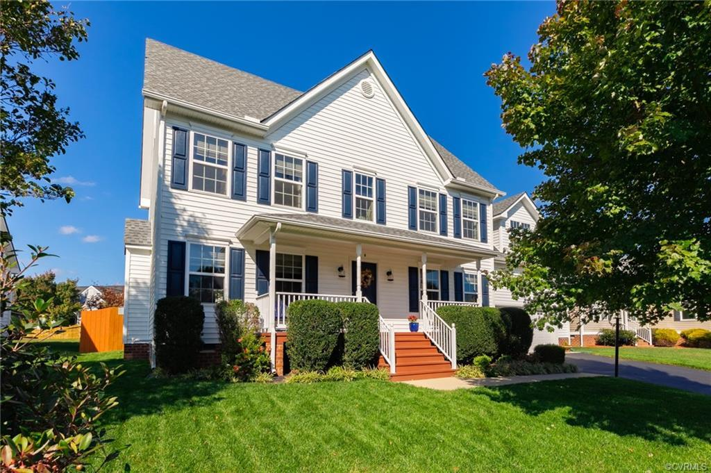 Welcome home to this amazing 4/5 bedroom, 2.5 bath home with an extremely desirable floor plan.  Ove