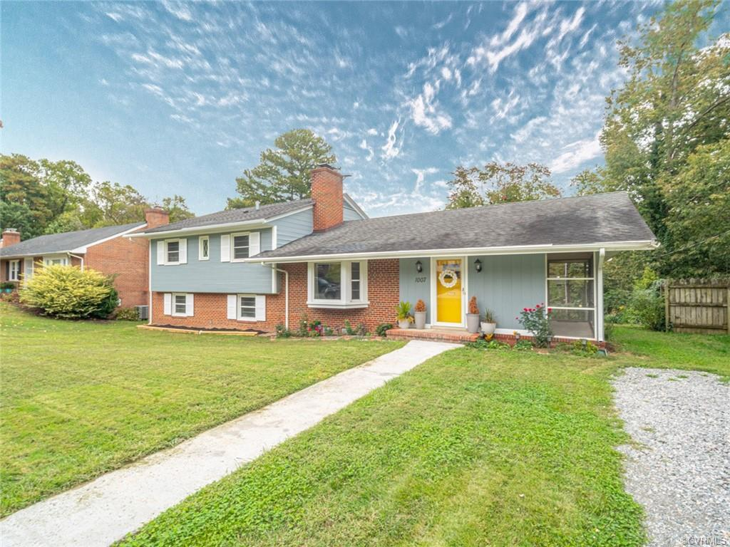 Welcome to 1007 Westham Pkwy! This charming 4 bedroom, 3 bath spacious brick tri-level is ready for