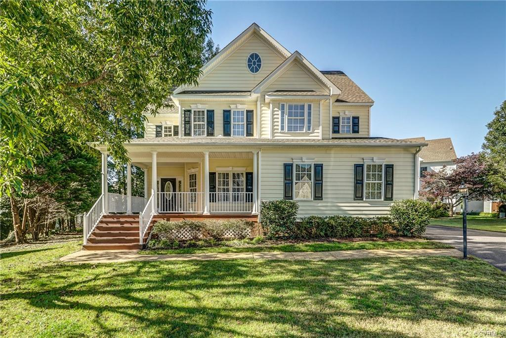 Impressive Transitional style home on the perfect Cul-de-sac lot!  Bright and open floor plan, New c