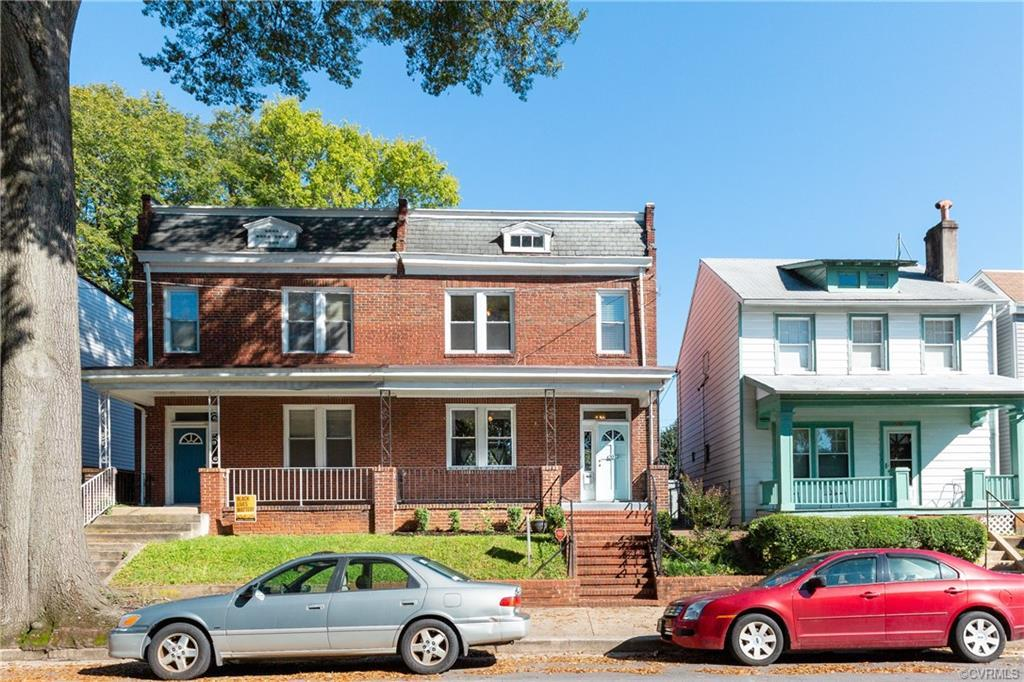 BEST DEAL IN THE FAN! Welcome to 2012 Parkwood Ave, this stately all brick home is located in the am