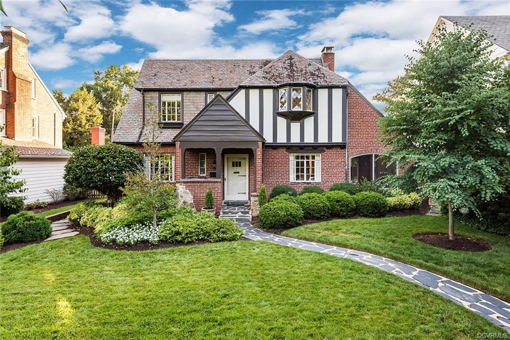 Storybook Old World Charm and All of the Modern Upgrades on Tree Lined Kingcrest Parkway.. This Gorg