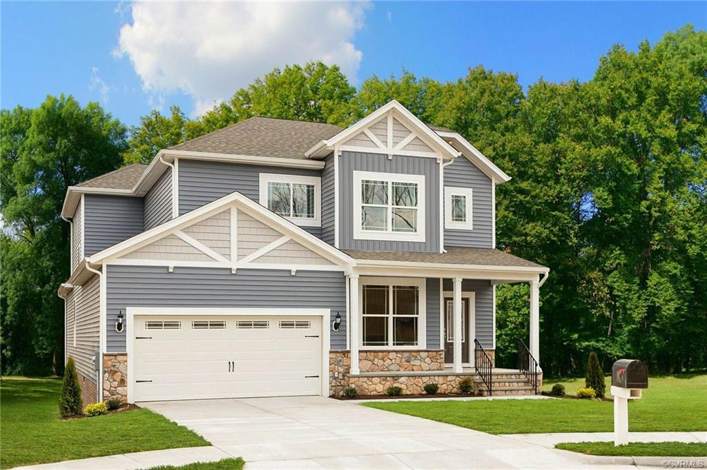 The Newport floor plan by LGI Homes is now available at NewMarket, the charming community of brand-n