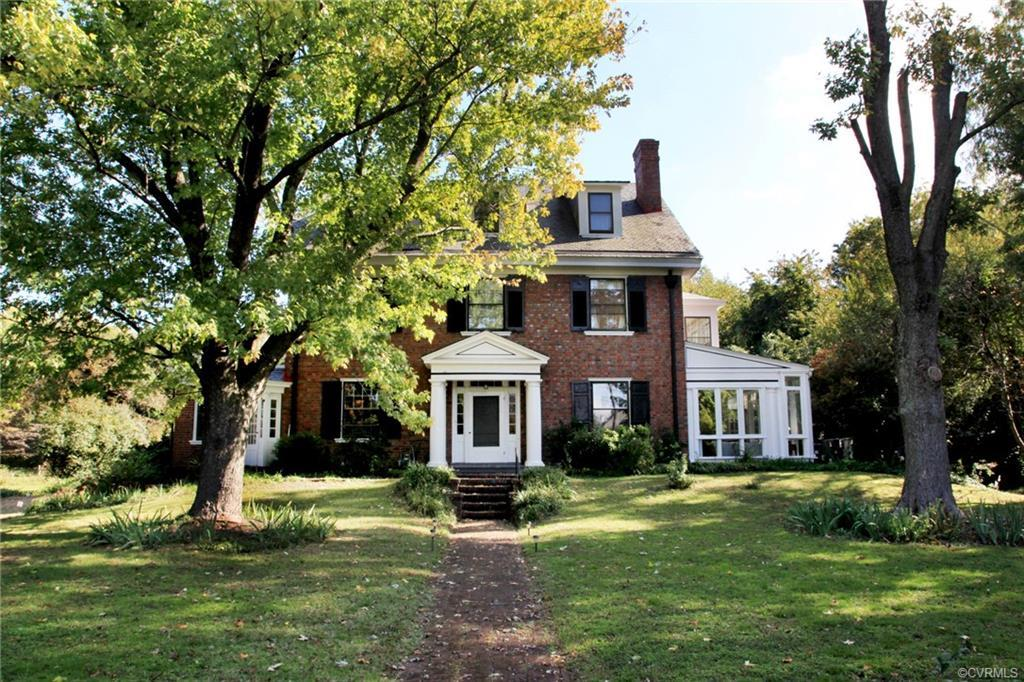 This enchanted Colonial Revival home is sumptuous in its demeanor, and its elegance. Built in 1910 s