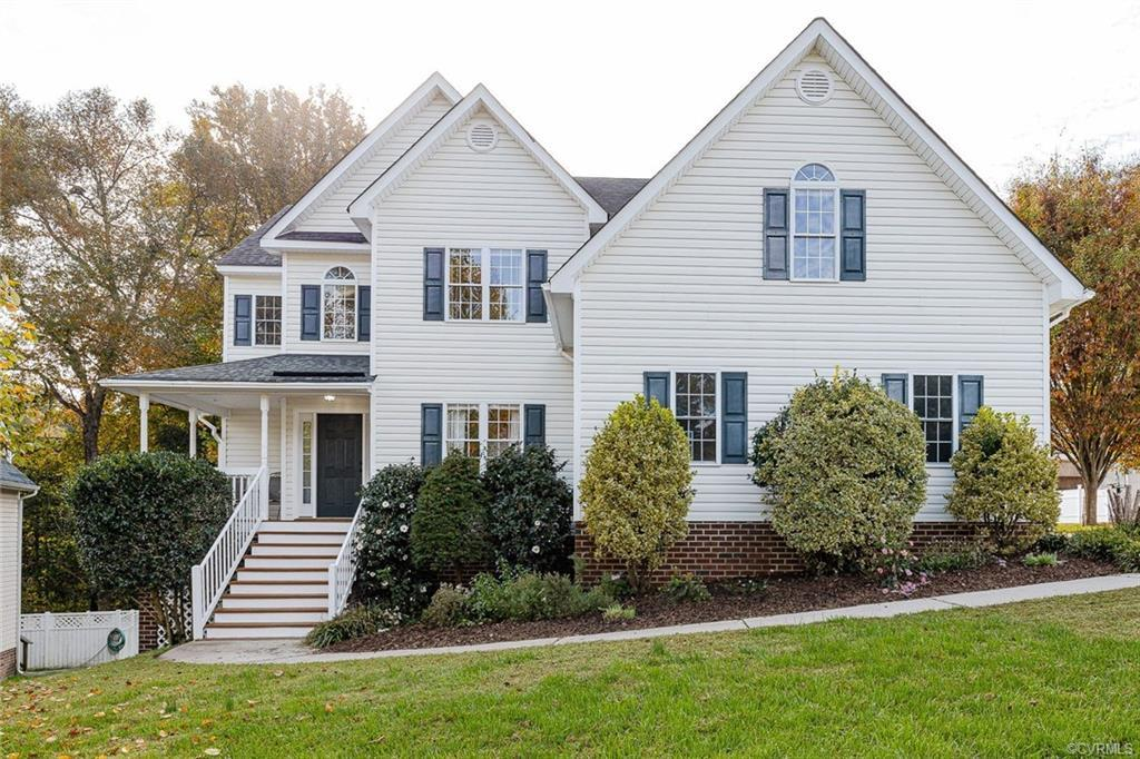 Built in 2006, this beautiful home features 4 beds/2.5 baths and over 2200 sqft of living space.  Se