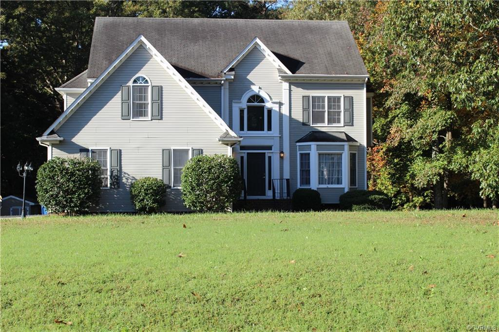 This is a must see!  Find out why!  An inviting 2 story home with a deck that sits on approximately