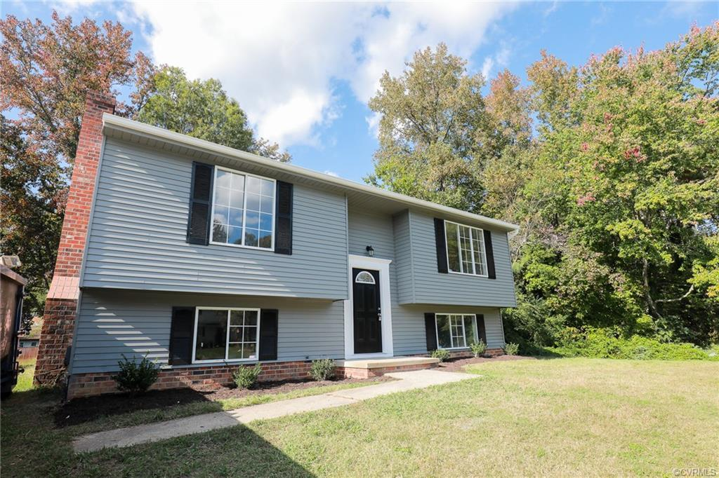 Beautifully renovated split foyer home. New luxury vinyl plank floors on first and second floor, new