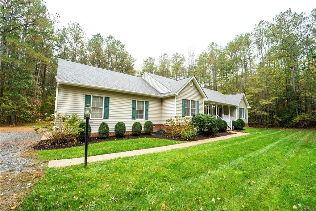Welcome Home to your private 5.64 Acres in Chesterfield County.  Don't want to miss this 3 bedroom (