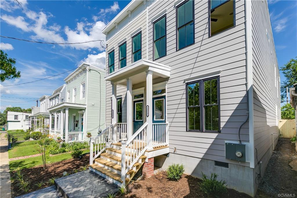Welcome to 1213 N 32nd St a sharp, modern inspired New Construction in bustling Church Hill!! Boasti