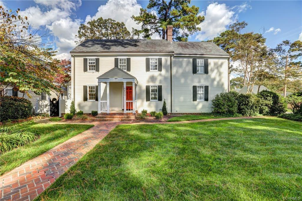 Built in 1945 and renovated and expanded over the years, this 2-story Colonial offers 3500+ sf of li