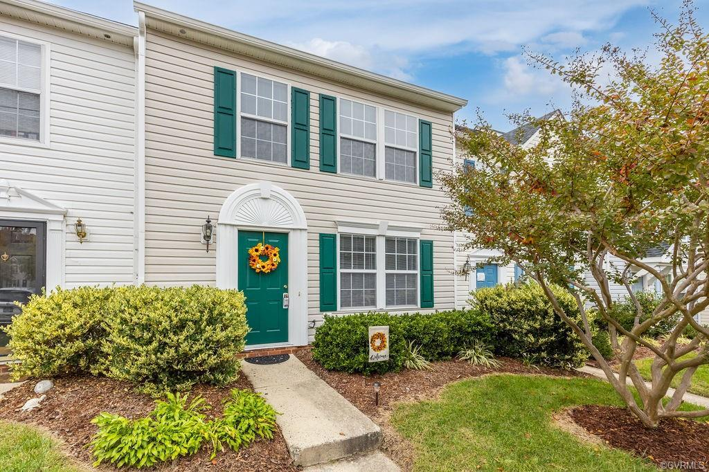 Beautifully renovated move-in ready two (2)  story middle unit townhome in the coveted subdivision o
