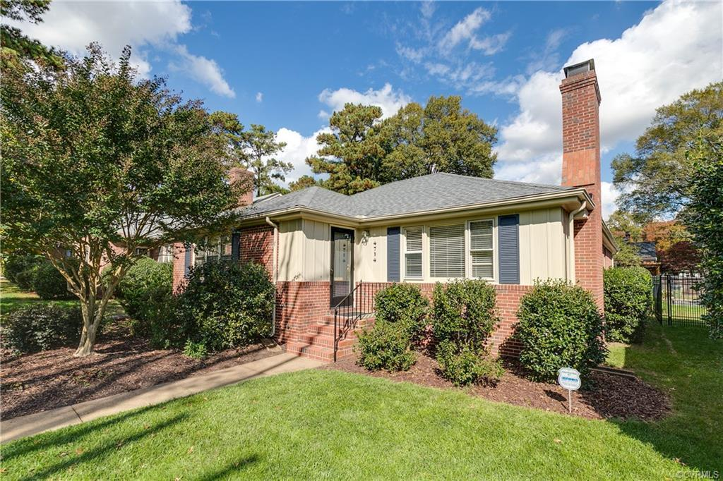 Incredible and rare opportunity to live in Monument Ave Park with *brand new roof*! Upon entering yo