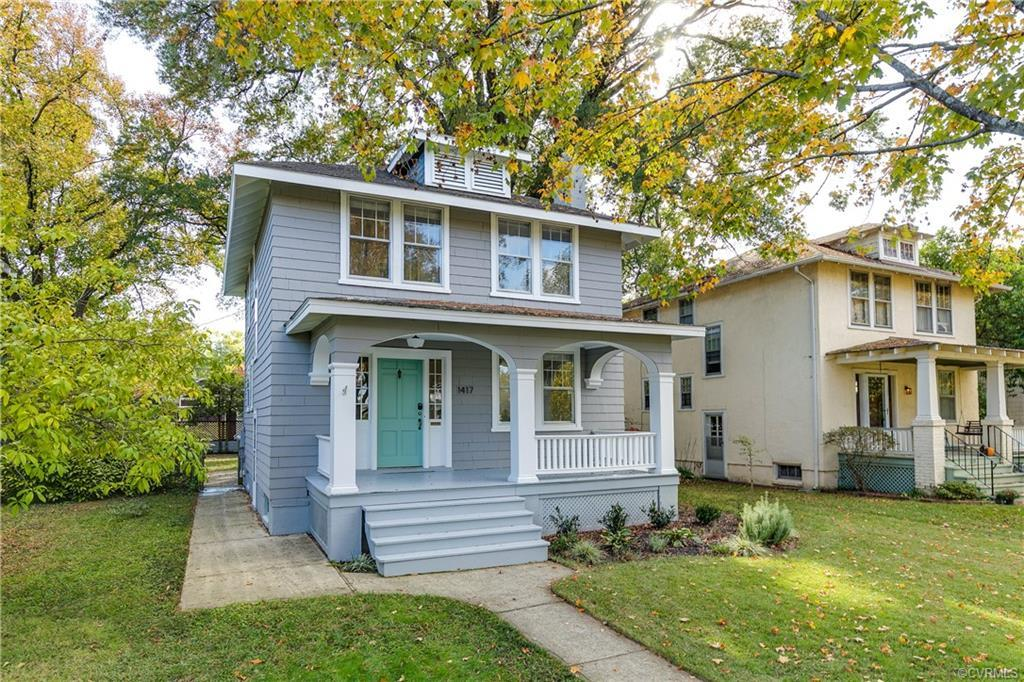 Beautiful Foursquare in Richmond's Bellevue neighborhood! Come see this stunning home that's full of