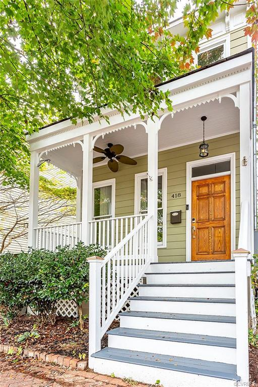 A gem in the heart of Church Hill. You have to see all the beautiful builder touches throughout the
