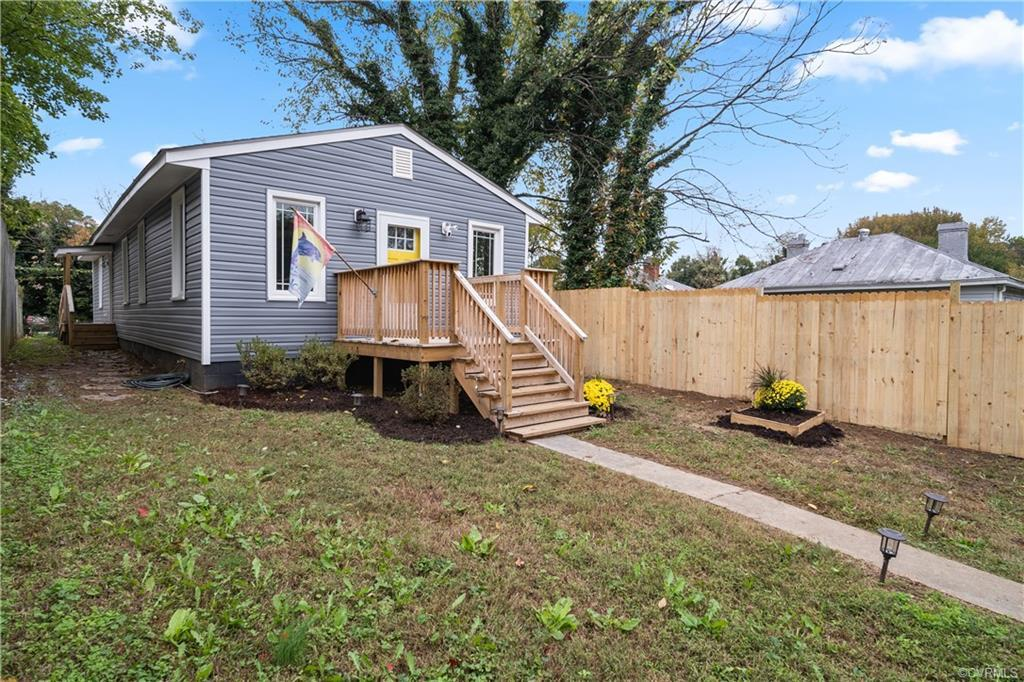 You are going to LOVE this beautifully renovated FOUR BEDROOM, 2 FULL BATHROOM, ranch style home. Th