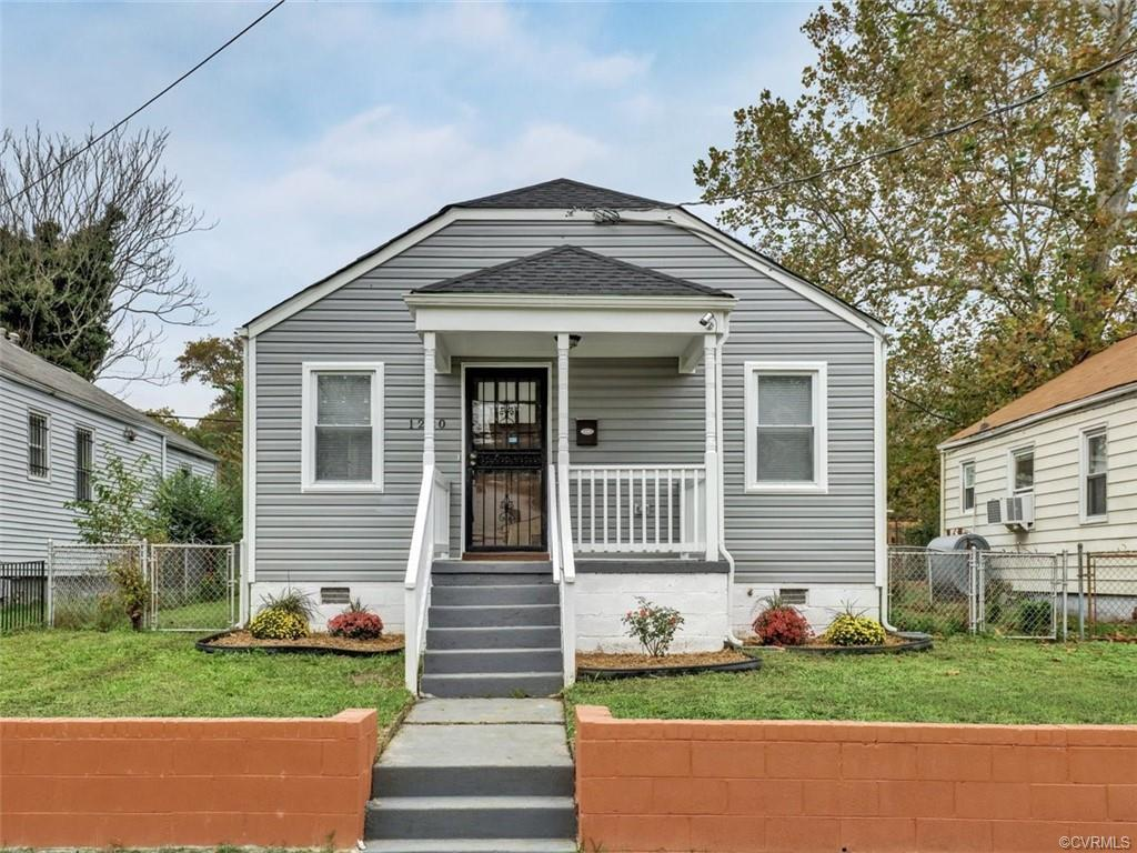 Fully renovated, charming home with plenty to offer!  This move-in ready home features a welcoming f