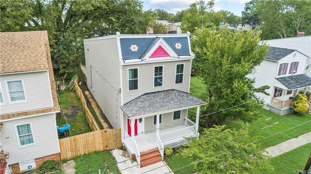 You are going to LOVE this beautifully restored Church Hill home with over 2000 finished square feet