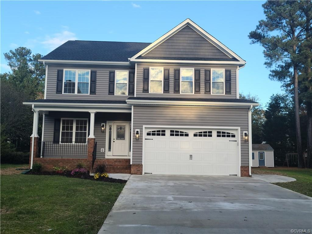 Stunning BRAND NEW home in one of Glen Allen's most sought-after neighborhoods. This home is loaded