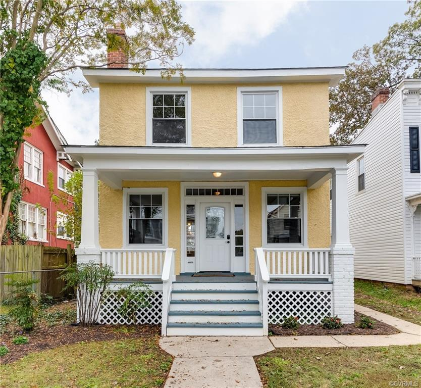Spectacular American Foursquare situated in the heart of Richmond's Northside!  Inside you'll find a