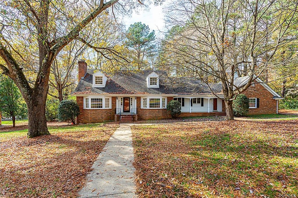 DO NOT MISS THIS BEAUTIFUL HOUSE LOCATED IN THE HEART OF HISTORIC TUCKAHOE OFF RIVER ROAD. SECLUDED