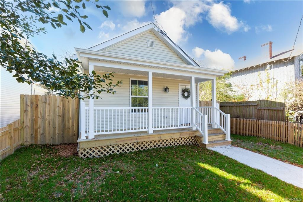 Adorable cape cod in Richmond city. This home has been completely renovated with a new roof, HVAC an