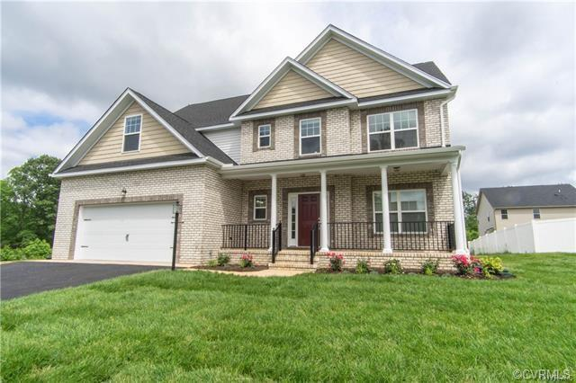 The Helton Plan By the Kittrell Company. Can be 5 or 6 Bedrooms 4.5 baths included. 9 foot ceilings