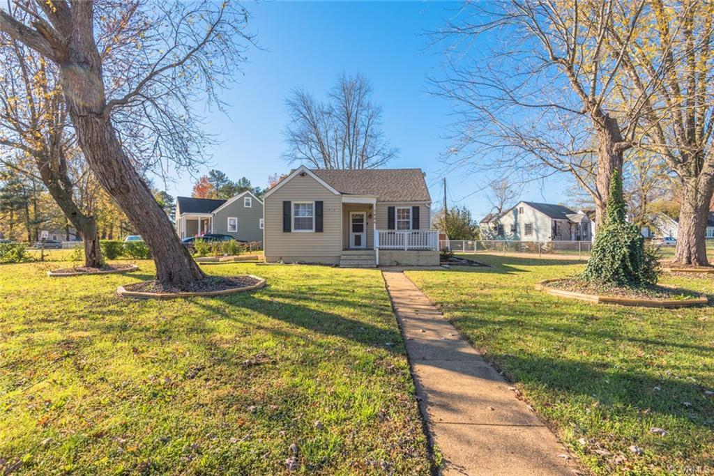 Charming, Renovated One Story Living! 2 Bedrooms, 1.5 Bathrooms with 1,180 Sq Ft! Welcomed by the Fr