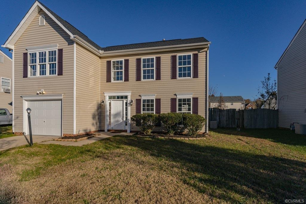 Do not miss this amazing 2 story, 4 bedroom, 2 1/2 bath! Freshly painted- throughout. New laminate f