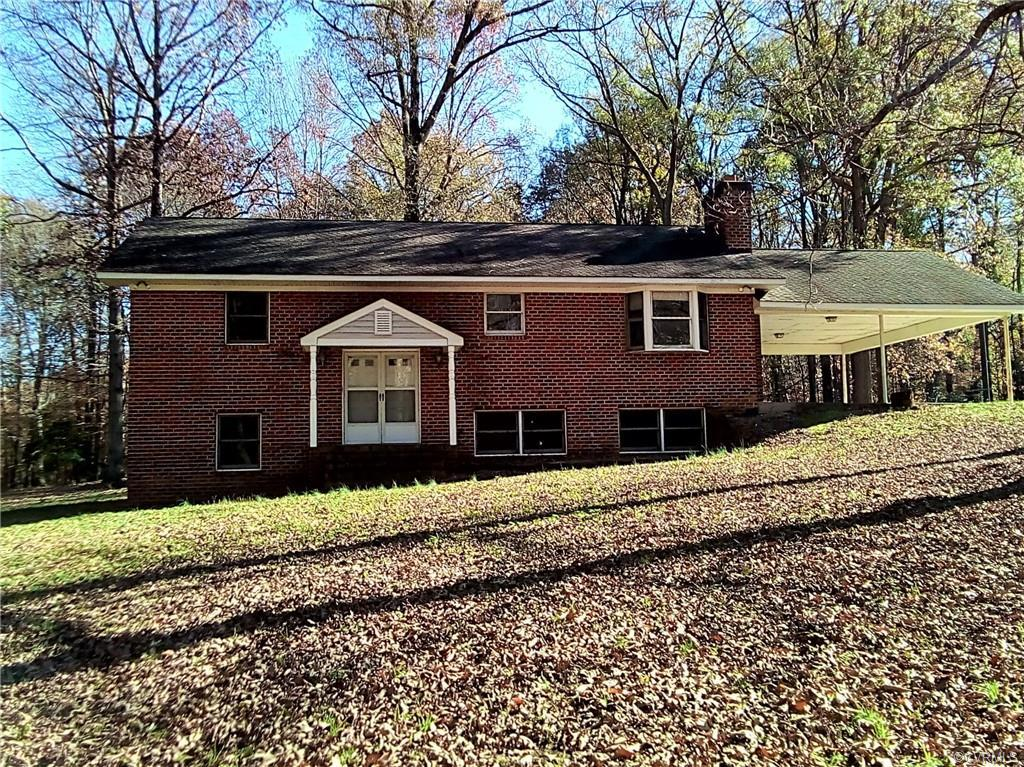 This spacious gem with a 3 car detached garage is nestled on 10 acres of wooded hills and is ready f