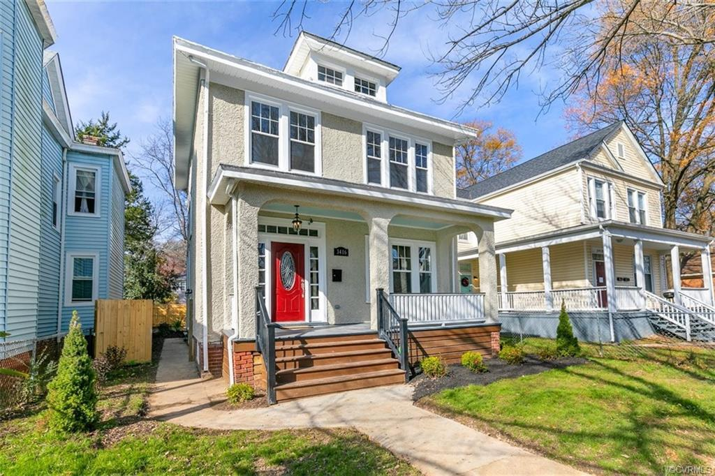 You are going to LOVE this renovated four square in Richmond's Northside! From the minute you walk i