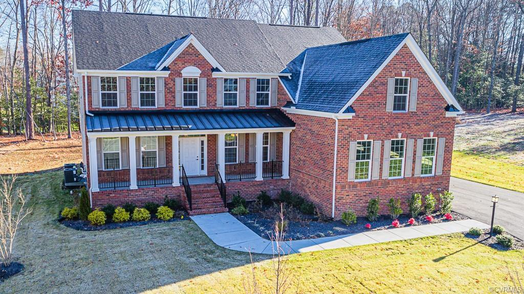 This stately brick front Colonial is brand new & waiting for you! Boasting 7 bedrooms, 6 full baths